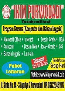 Read more about the article Program Komputer IKIM Purwodadi